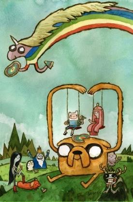 Scott C Adventure Time