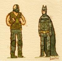 Scott C Great Showdowns Batman