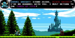 Shovel Knight Black Knight