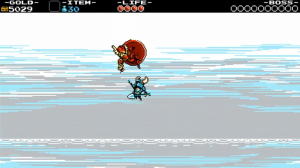 Shovel Knight Dream Shield Knight Fall