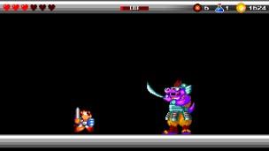 Wonder Boy: The Dragon's Trap boss samurai
