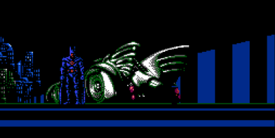 Batman NES 1989 Batmobile