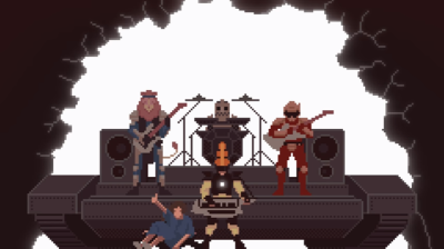 Pixel art music video TWRP NSP Nerd Speaker